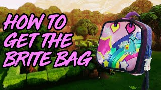 "How To Get The ""BRITE BAG"" In Fortnite Battle Royale! (Unlock The Brite Bag Glitch?!)"