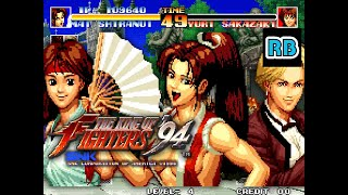 1994 [60fps] The King of Fighters '94 Speedrun ENGLAND ALL