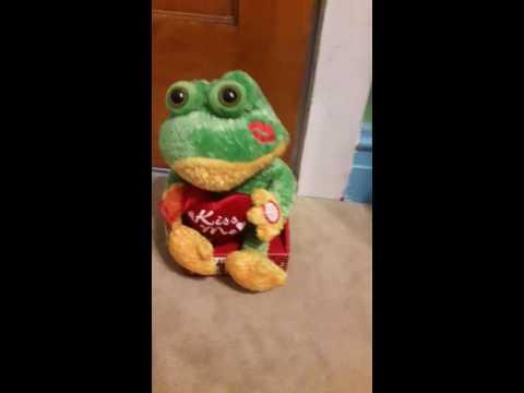 Dan dee animated singing frog