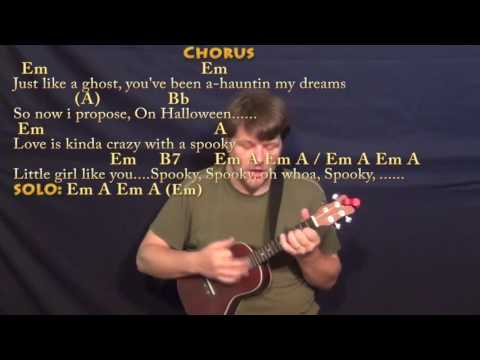 Spooky (Dusty Springfield) Ukulele Cover Lesson in Am with Chords ...