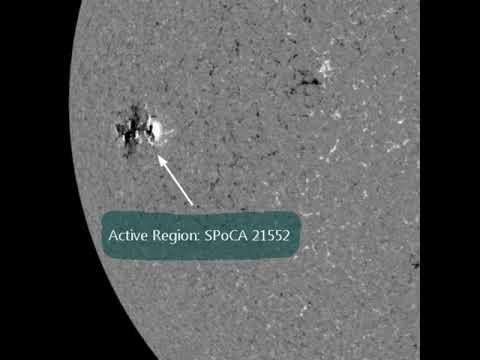 Ηλιακή δραστηριότητα, 4-6/2/18 (Solar activity, 4-6/2/18)