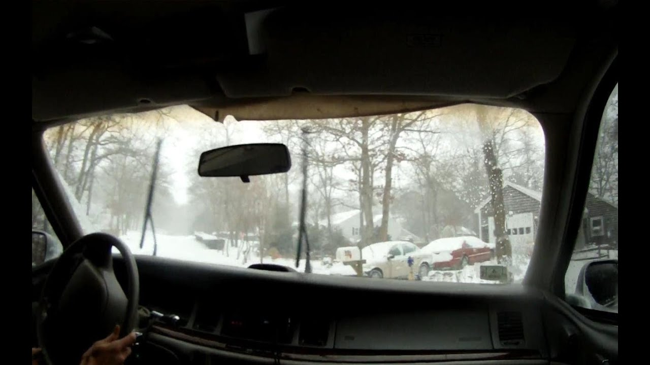 500 Lincoln Town Car Blizzard Drift Grandpa Style Youtube