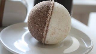 Шоколадная бомба для ванны. Chocolate bath bomb.