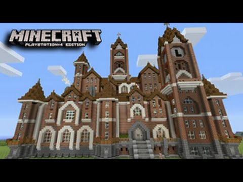 Minecraft Playstation Massive Mansion Best Builds Minecraft PS4 PS3 YouTube