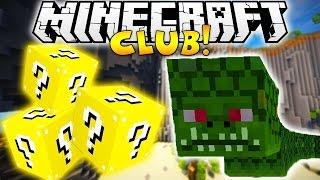 Minecraft Club - Lucky Blocks Challenge VS SNAKE BOSS (Naga)