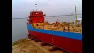 Launching of Accord Oil Tanker