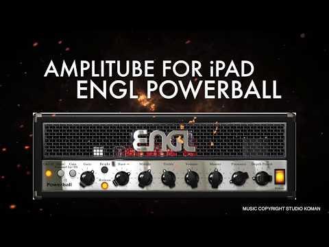 Amplitube for iPad ENGL Power Ball amp sim test