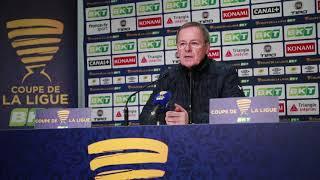 L'après match Bordeaux le Havre: Conférence de Presse d'Eric Bedouet