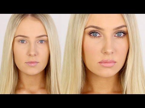 How I Achieve Big Eyes Amp Lips Youtube