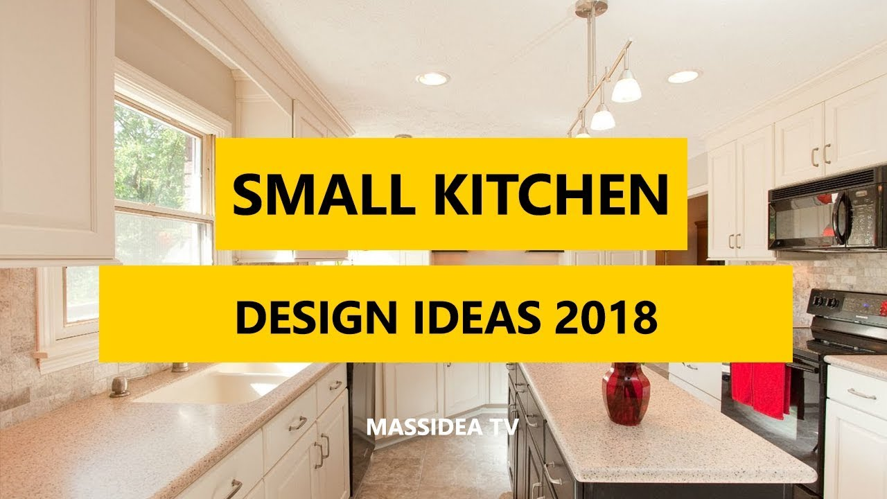 50 best small kitchen design ideas for small space 2018 - Kitchen layout designs for small spaces ...