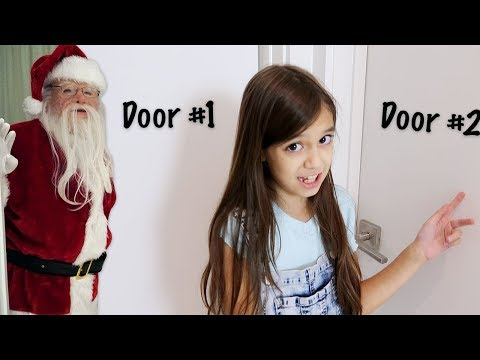 Don't Choose The Wrong Door Christmas Presents Challenge! Naughty Or Nice