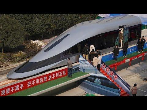 شاهد: الصين تكشف عن النموذج الأول لقطار ماغليف الأكثر سرعة في العالم…  - نشر قبل 42 دقيقة