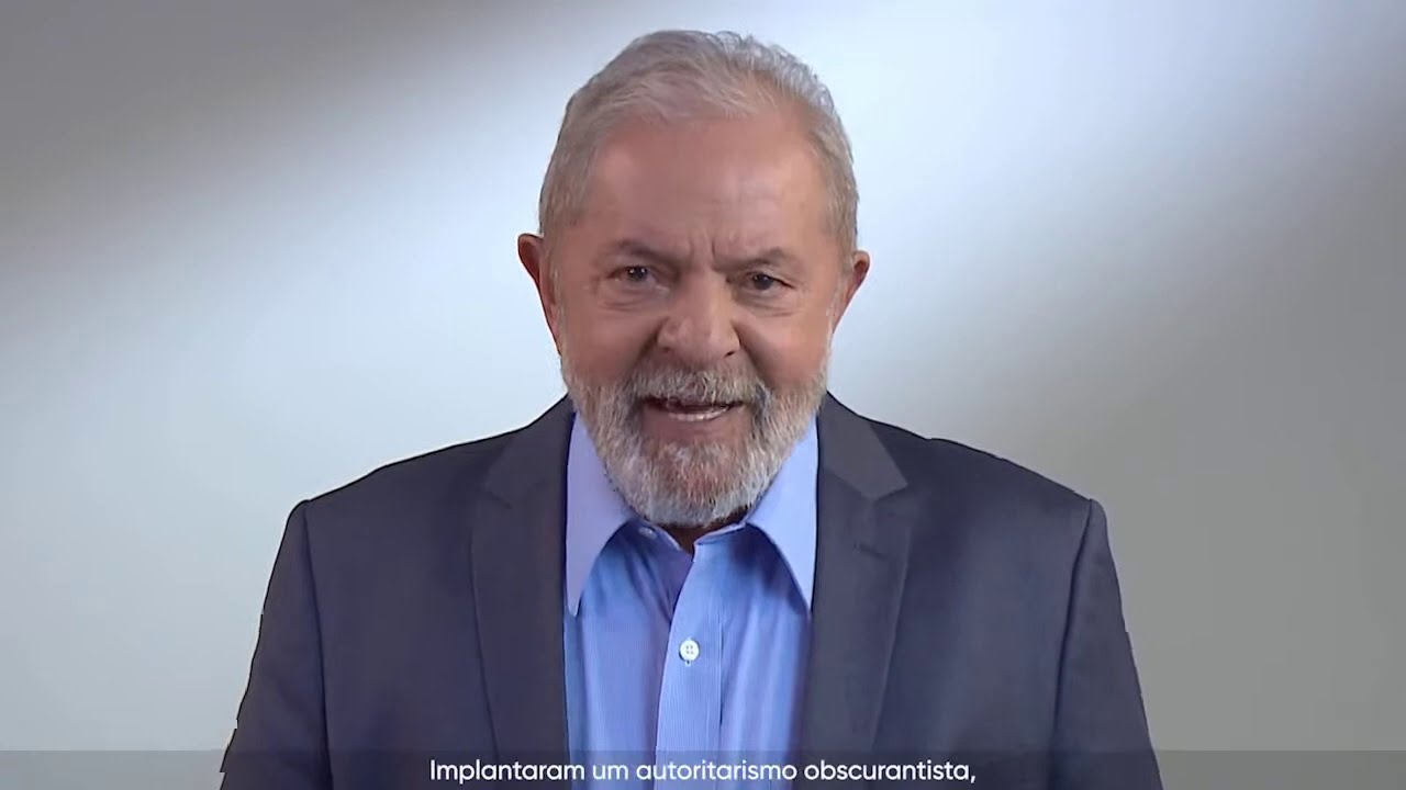 "Lula: ""Vamos juntos reconstruir o Brasil"""