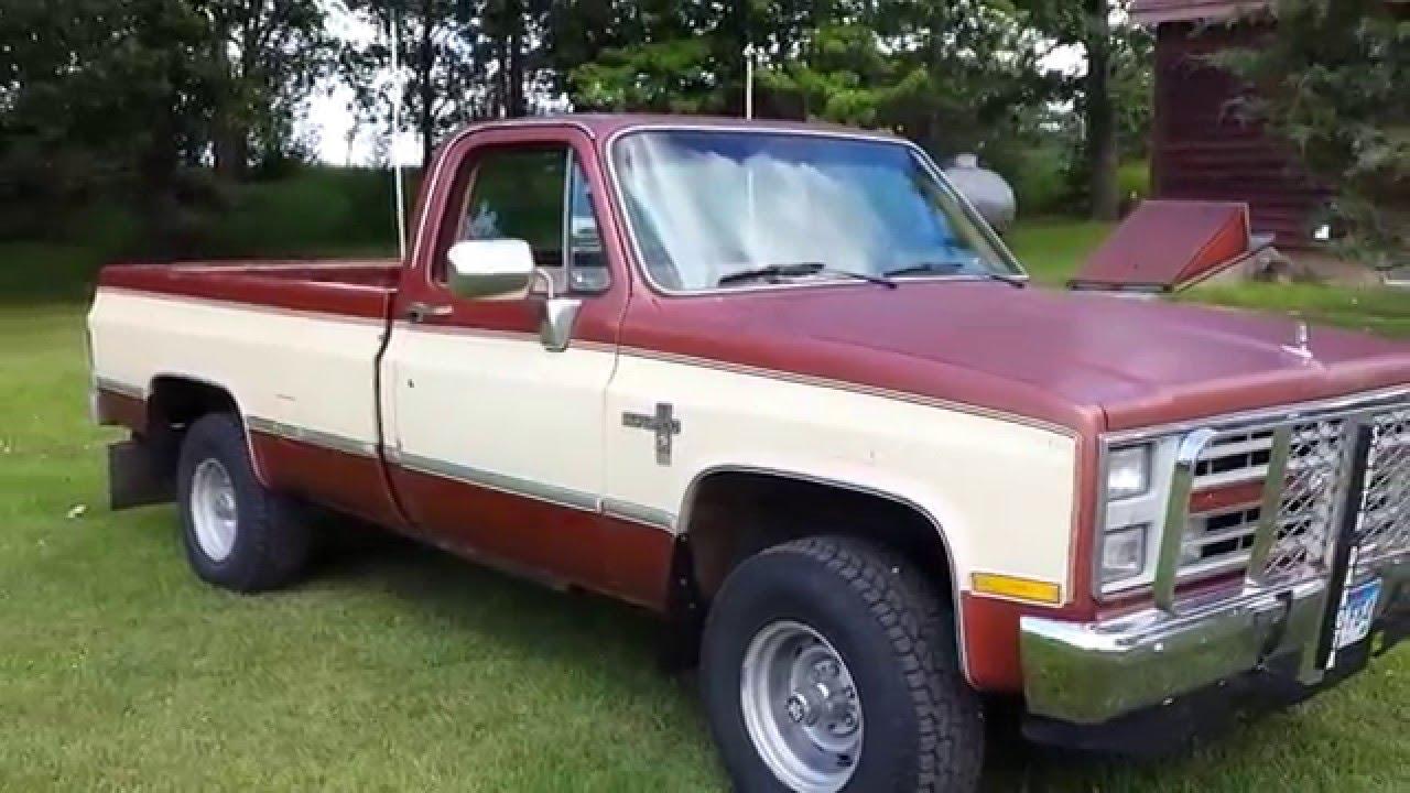 Chevrolet 6.2 Diesel >> 1986 Chevy w/ 6.2 diesel! - YouTube