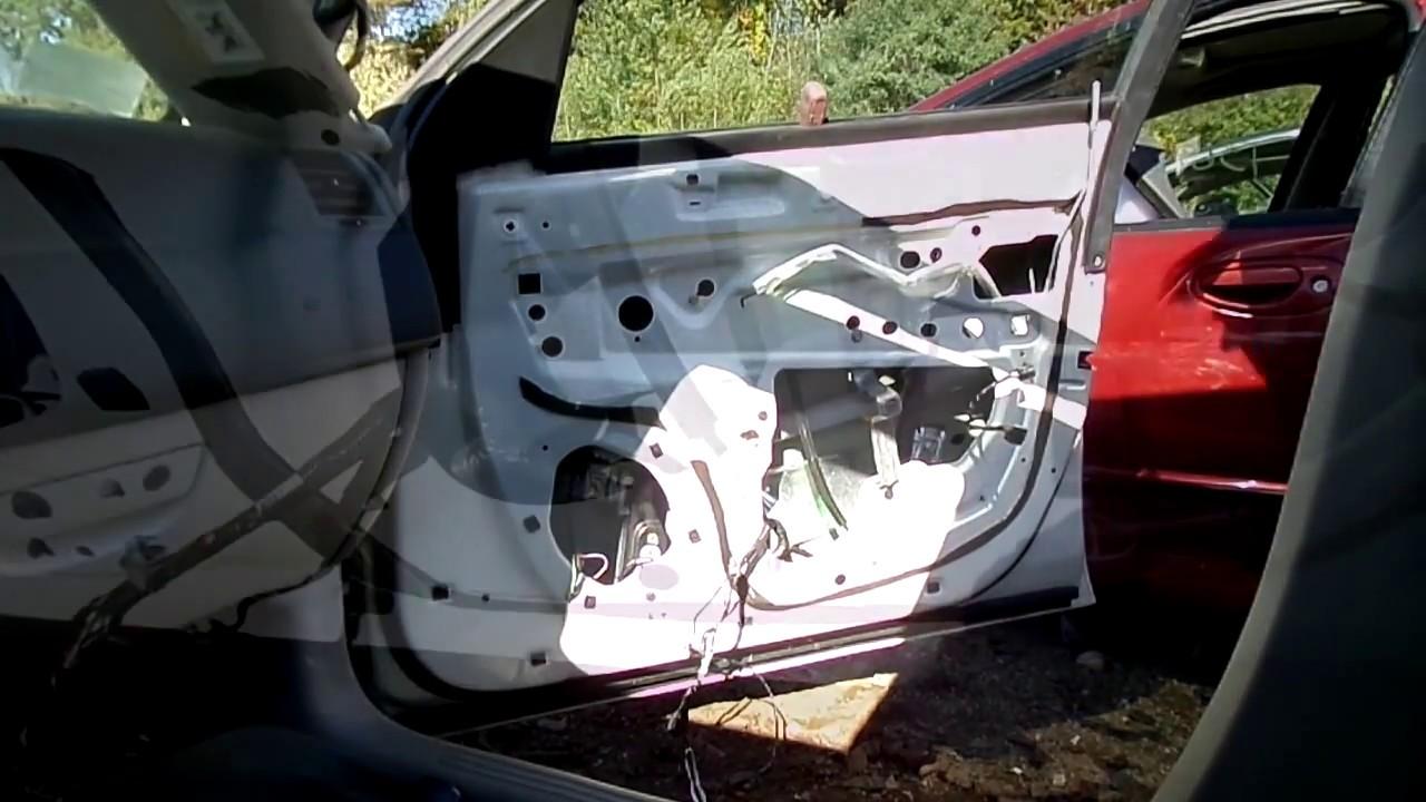 chrysler 300 window motor regulator removal