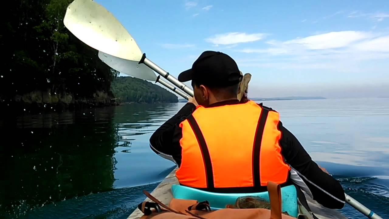 сплав по ангаре на лодке