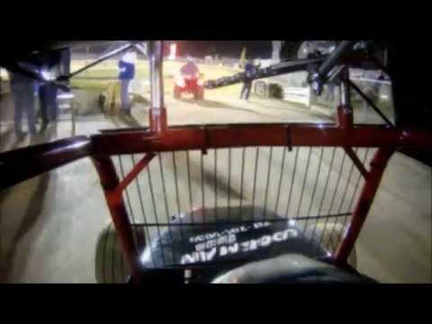 4/19/14 Jas Hehnly, 125cc Micro Sprint @ Clyde Martin Memorial Speedway