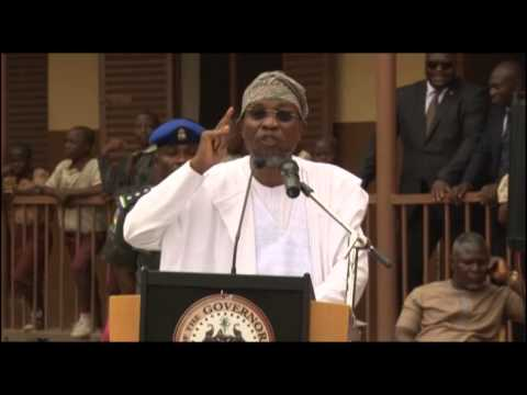GOVERNOR AREGBESOLA OF OSUN STATE DECLARES WAR ON PUNCH AND TRIBUNE NEWSPAPERS