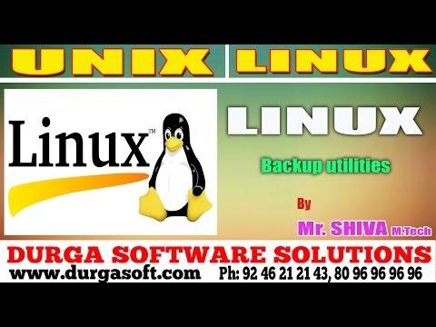 Linux/ Unix Tutorial ||  Backup utilities by Shiva