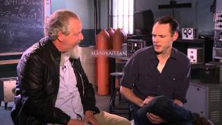 BEHIND THE FENCE: Daniel Stern and Christopher Denham