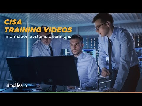 CISA Domain 4 | Information Systems Operations | Simplilearn