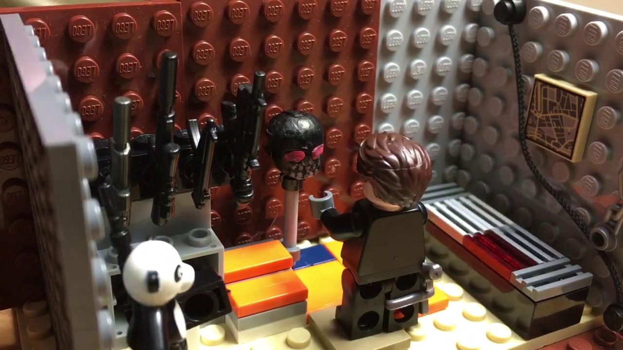 Black Mask Lego Birds Of Prey Custom Figs Youtube