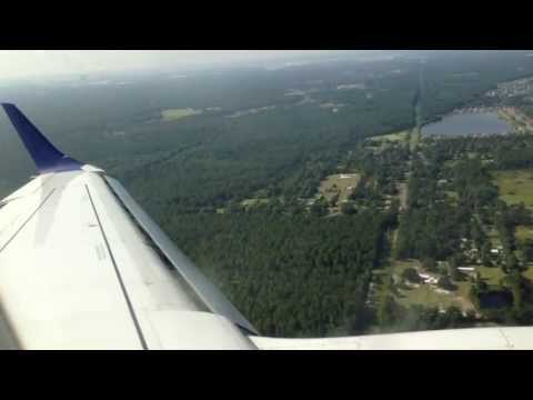 JetBlue E190 Landing at Jacksonville International Airport