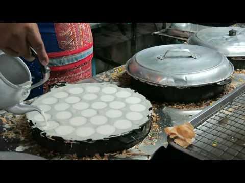 Best Kanom Krok Thai Dessert – Thailand Street Food