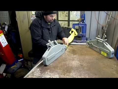 Sealey wrp1600 wire rope puller. Review - YouTube