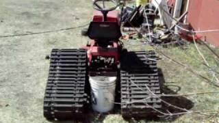 Lawn Tractor Skid Steer Mock Up