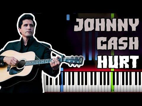 🎸 Johnny Cash - Hurt Piano Tutorial (Sheet Music + midi) thumbnail