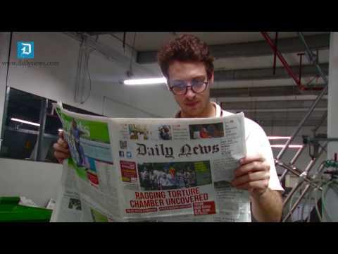 Detour w/Sam Bresnick: Inside Lake House - Sri Lanka's oldest newspaper publisher
