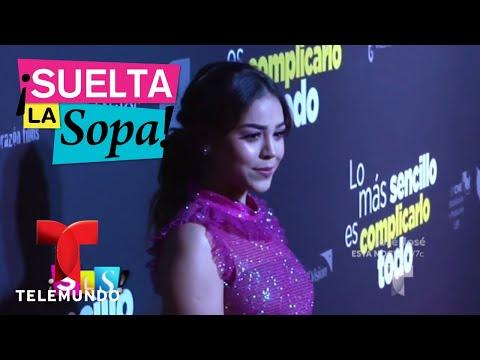 Marjorie de Sousa no fue al estreno de su nueva película | Suelta La Sopa | Entretenimiento