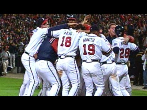 1999 NLCS Gm6: Caray calls Braves advancing to WS