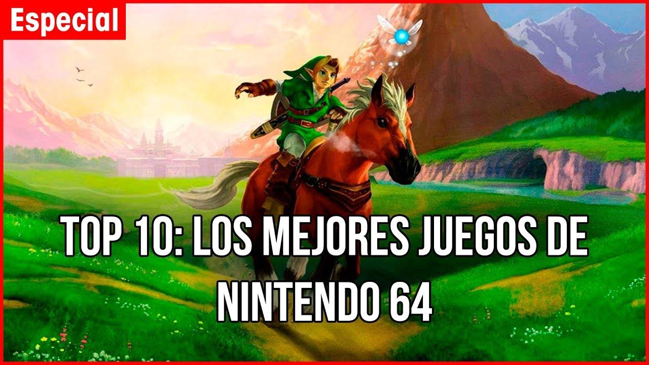Top 10 Los Mejores Juegos De Nintendo 64 Ranking Retro N64 Youtube