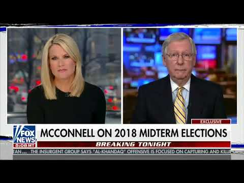 Mitch McConnell sounds very worried about the blue wave