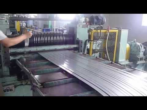 Cold/Hot rolled, Galvanized, Carbon, Stainless Steel, Aluminum Coil Mini Slitting Line ESSL-1.5X650