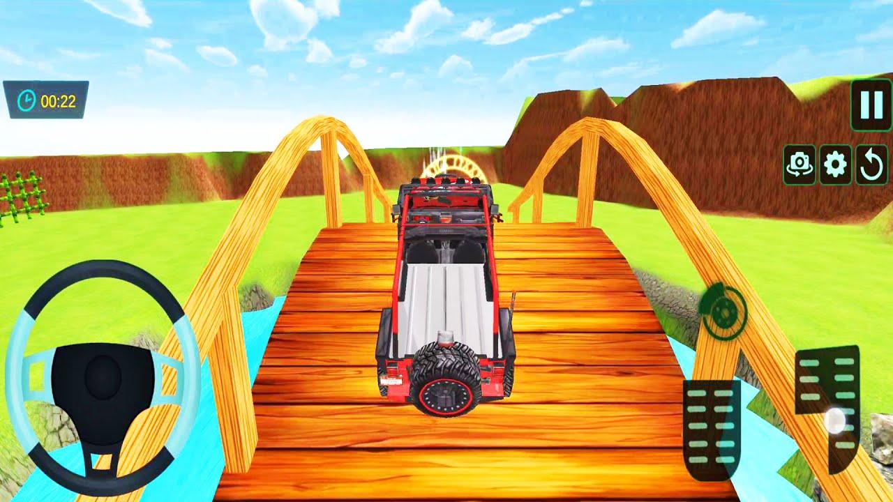 Car Simulator 2 - Mountain Climb Jeep Stun Packing 3D - Driving Simulators   Android ios Gameplay