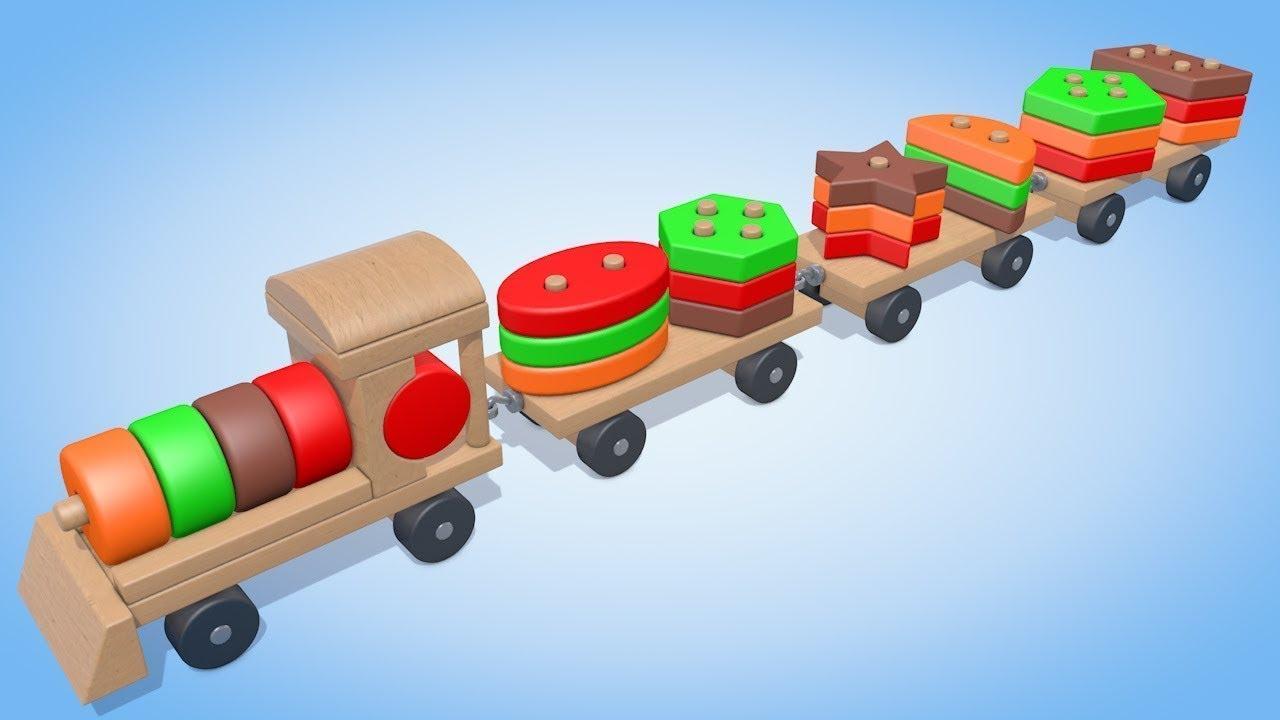 Развивающие мультики Геометрические фигуры для детей от 6 ...