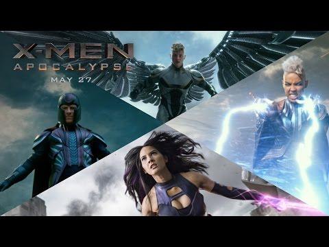 X-Men: Apocalypse | The Four Horsemen [HD] | 20th Century FOX