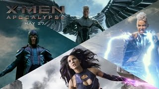 X-Men: Apocalypse | The Four Horsemen [HD] | 20th Century FOX