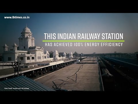 Kacheguda station is India's 1st 'Energy Efficient' railway station
