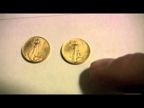 Bullion Bug - $5 American Eagle Gold Coins - Roman Numerals Versus Regular
