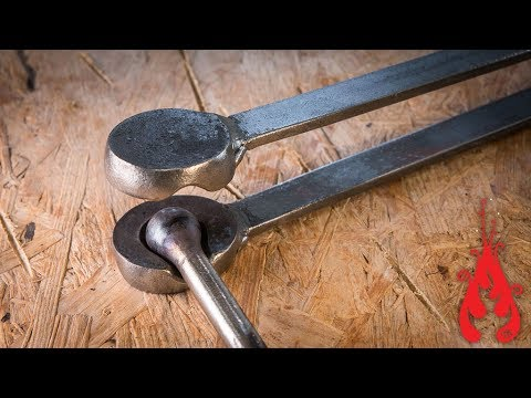Blacksmithing - Forging a ball swage