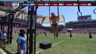 2014 Reebok CrossFit Games   Individual Muscle up Biathlon Woman Heat 3