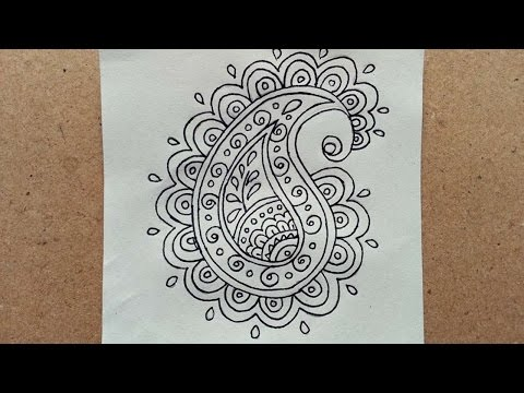 How To Draw A Simple Doodle Paisley - DIY Crafts Tutorial - Guidecentral