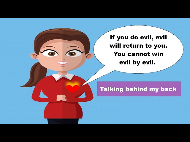 How to overcome evil by good