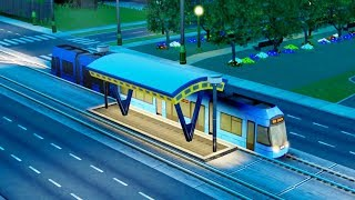 simCity  Ep. 05  New Tram System & City Mass Transit  SimCity City Building Tycoon Gameplay