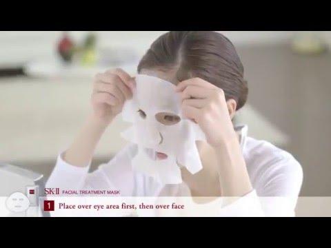Cách sử dụng mặt nạ SK II Facial Treatment Mask