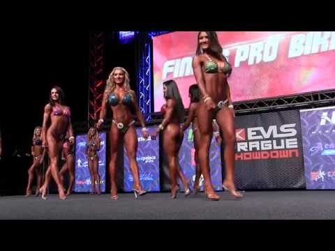 Bikini Pro Confirmation Round @ EVLS Prague Pro 2016